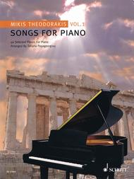 Songs For Piano Vol. 1