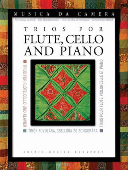 Trios for Flute, Cello, and Piano