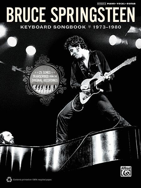 Bruce Springsteen -- Keyboard Songbook 1973-1980