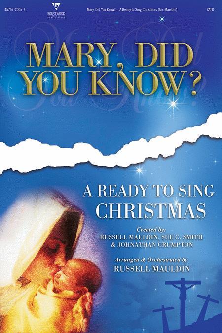 Mary Did You Know? (Split Track Accompaniment CD)