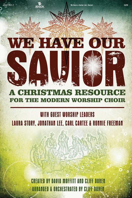 We Have Our Savior DVD Track (2 Disks - DVD Track and DVD Worship Slide Kit)