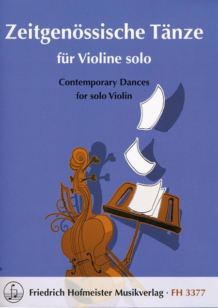Zeitgenossische Tanze fur Violine solo