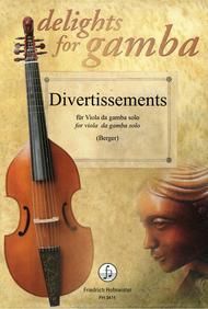 Divertissements fur Viola da Gamba solo