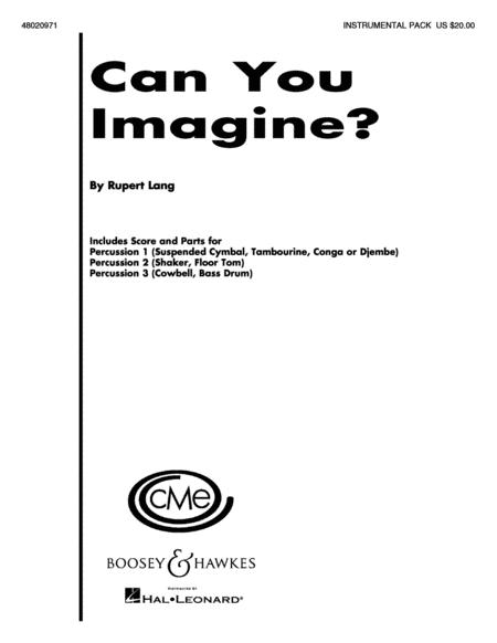 Can You Imagine?