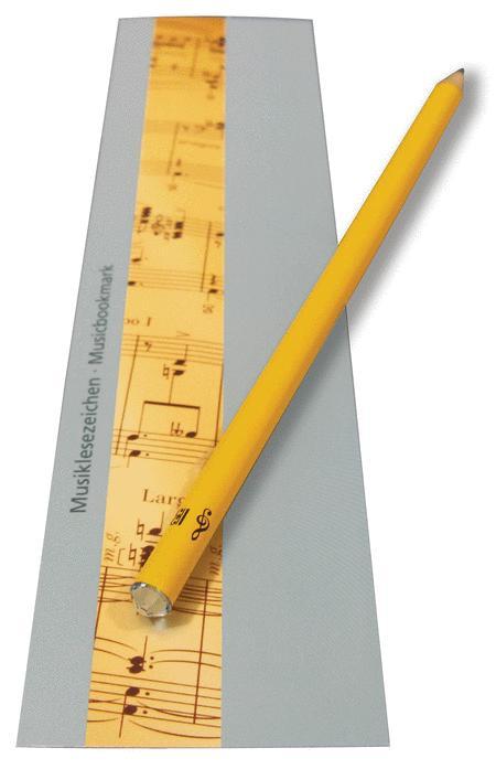 Set pencil svarowski crystal and bookmark