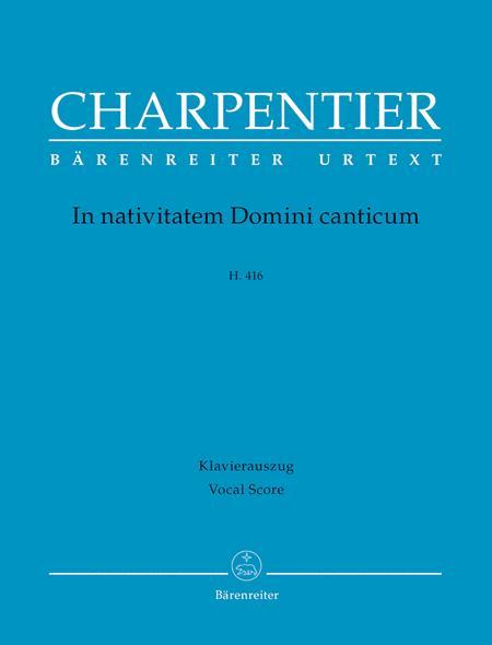 In nativitatem Domini canticum H. 416