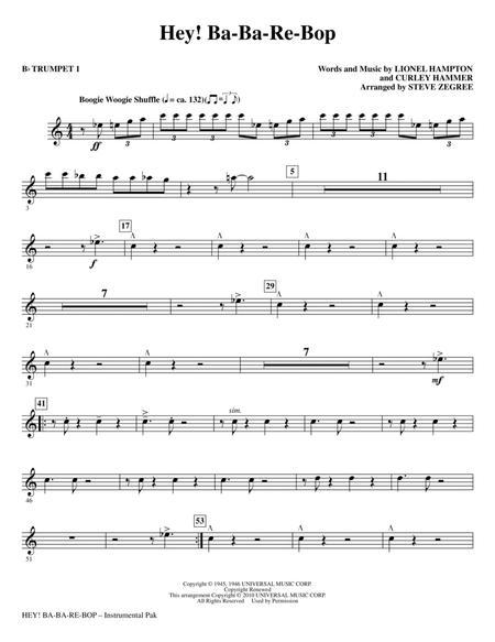 Hey! Ba-Ba-Re-Bop - Bb Trumpet 1