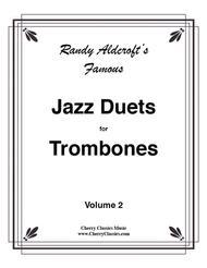 12 Famous Jazz Duets for Trombones, Volume 2