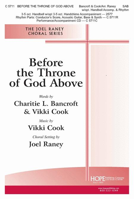 Before The Throne Of God Above Sheet Music By Charitie Bancroft