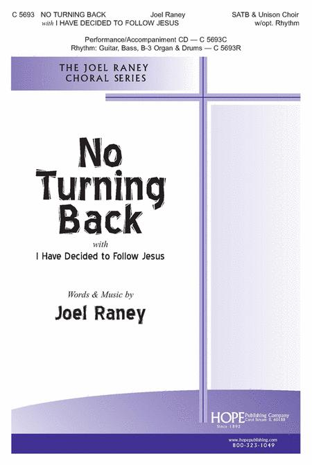 No Turning Back With I Have Decided To Follow Jesus Sheet Music By ...