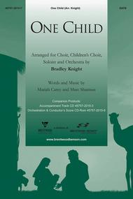 One Child (Orchestra Parts and Conductor's Score, CD-ROM)