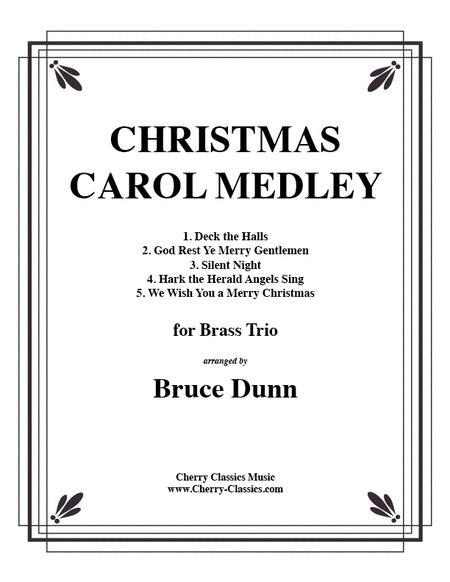 Christmas Carols for Brass trio