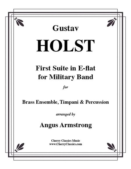 First Suite in Eb for Brass Ensemble