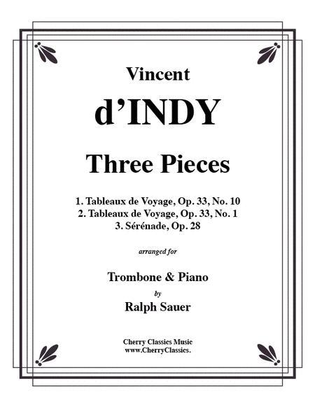 Three Pieces for Trombone & Piano