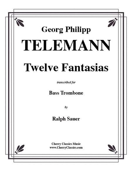 Twelve Fantasias for Bass Trombone