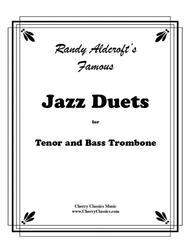 Famous Jazz Duets for Tenor & Bass Trombone