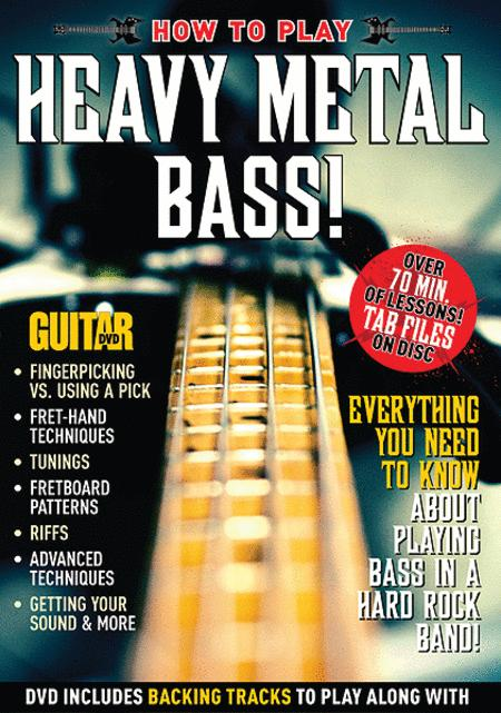 Guitar World -- How to Play Heavy Metal Bass!
