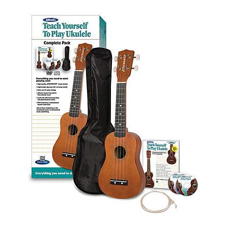 Alfred's Teach Yourself to Play Ukulele, Complete Pack
