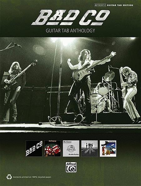 Bad Company - Guitar Tab Anthology