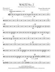 Waltz No. 2 - Percussion 1