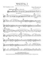 Waltz No. 2 (from Suite For Variety Stage Orchestra) - Eb Alto Saxophone 1