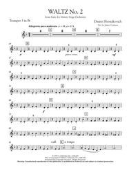 Waltz No. 2 (from Suite For Variety Stage Orchestra) - Bb Trumpet 3