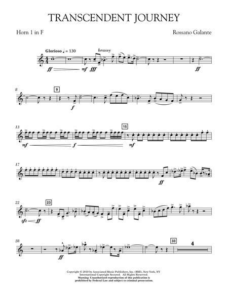 Transcendent Journey - Horn 1 in F