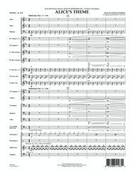 Alice's Theme (from Alice In Wonderland) - Conductor Score (Full Score)