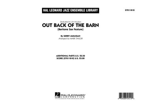 Out Back Of The Barn (Bari Sax Feature) - Full Score