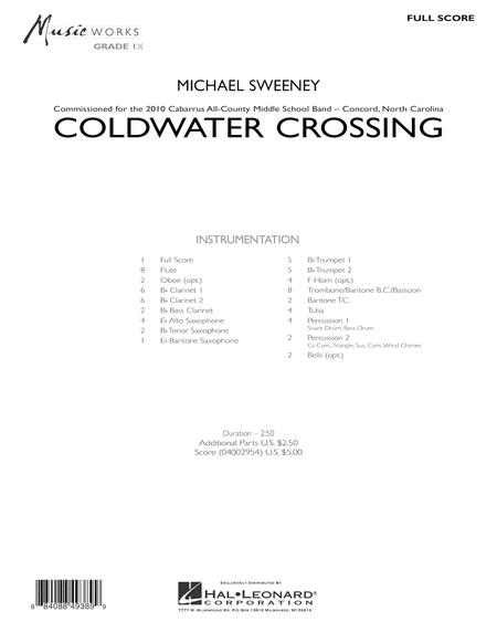 Coldwater Crossing - Full Score