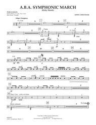 A.B.A. Symphonic March (Kitty Hawk) - Percussion