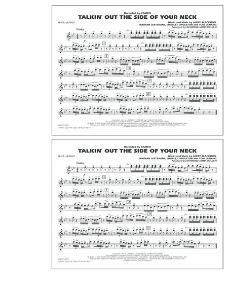 Talkin' Out The Side Of Your Neck - Bb Clarinet