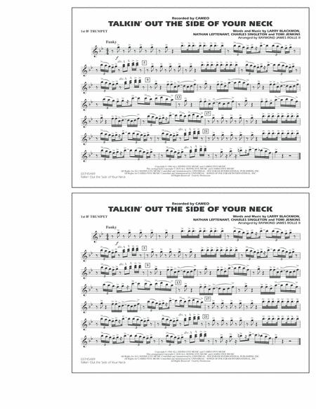 Talkin' Out The Side Of Your Neck - 1st Bb Trumpet