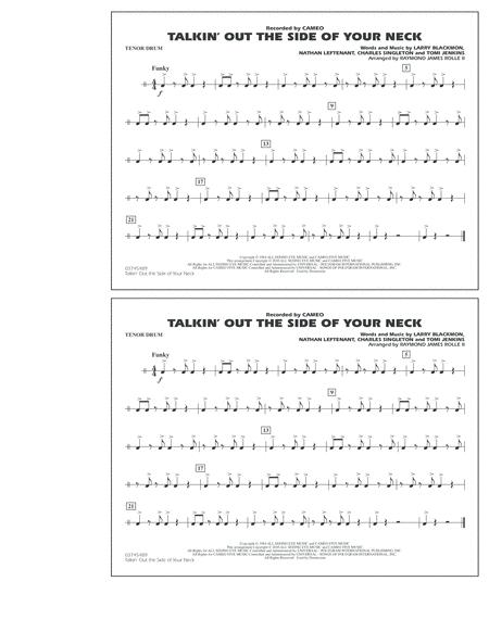 Talkin' Out The Side Of Your Neck - Tenor Drum