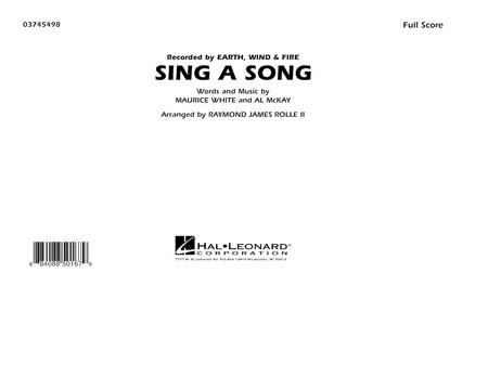 Sing A Song - Full Score