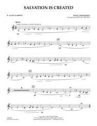 Salvation Is Created - Eb Alto Clarinet