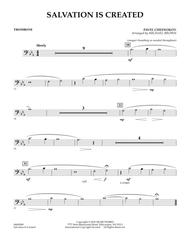 Salvation Is Created - Trombone