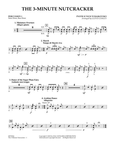 The 3-Minute Nutcracker - Percussion 1