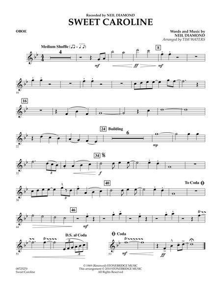 Sweet Caroline - Oboe