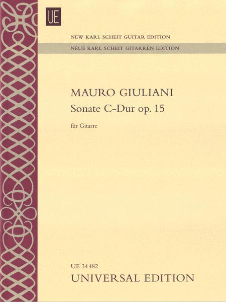 Sonata In C Major Op.15