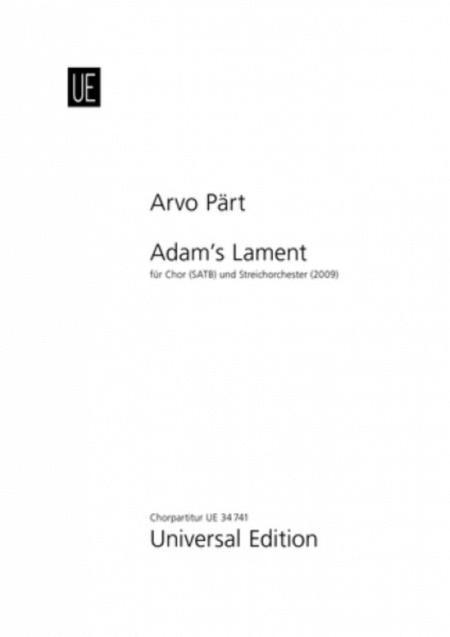 Adam's Lament