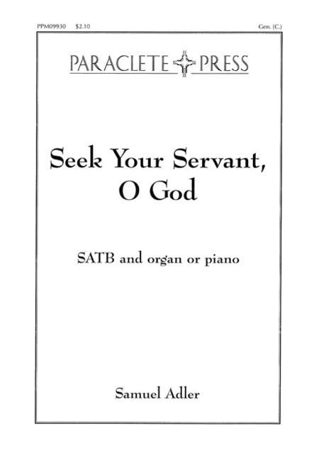 Seek Your Servant O God