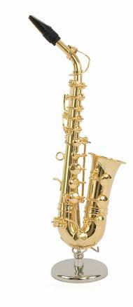miniature instrument: alto saxophone