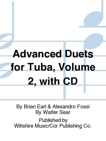 Advanced Duets for Tuba, Volume 2, with CD by Brian Earl & Alesandro Fossi