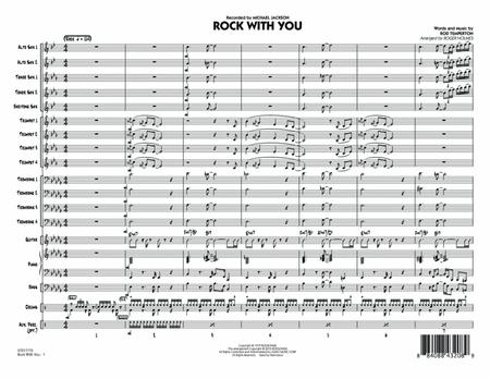 Rock With You - Conductor Score (Full Score)