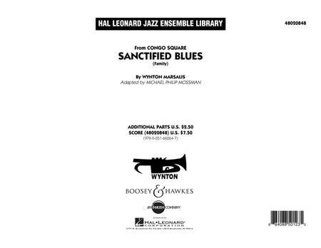 Sanctified Blues (Family) - Conductor Score (Full Score)