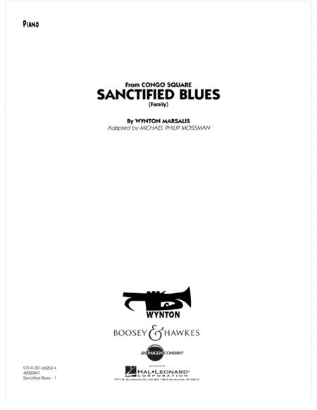 Sanctified Blues (Family) - Piano