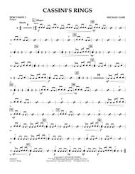 Cassini's Rings - Percussion 2