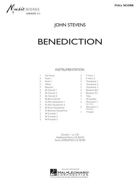Benediction - Full Score