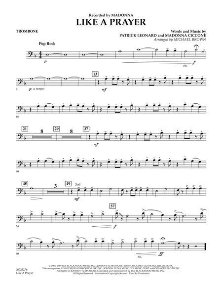 Like A Prayer - Trombone